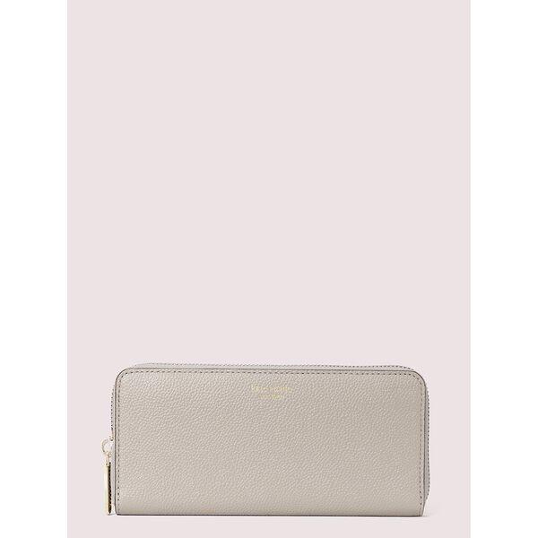 margaux slim continental wallet, true taupe, hi-res