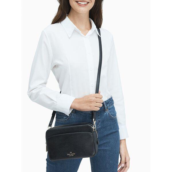 lauryn camera bag, black, hi-res