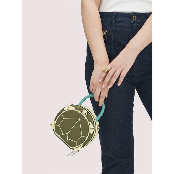 andi turtle mini chain canteen bag, lichen, hi-res