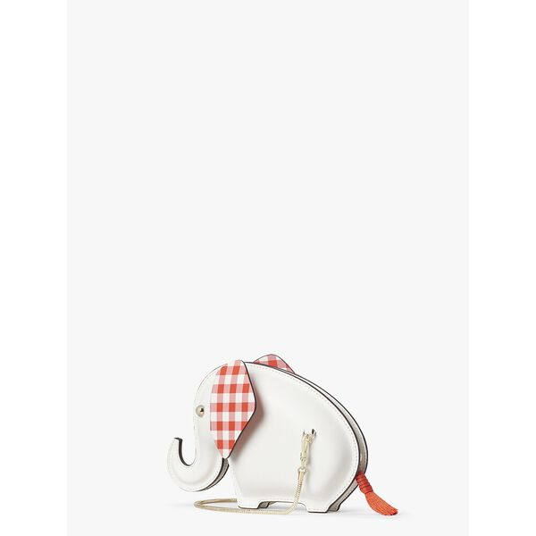 tiny elephant crossbody, OPTIC WHITE, hi-res