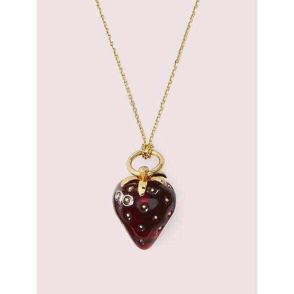 tutti fruity strawberry mini pendant