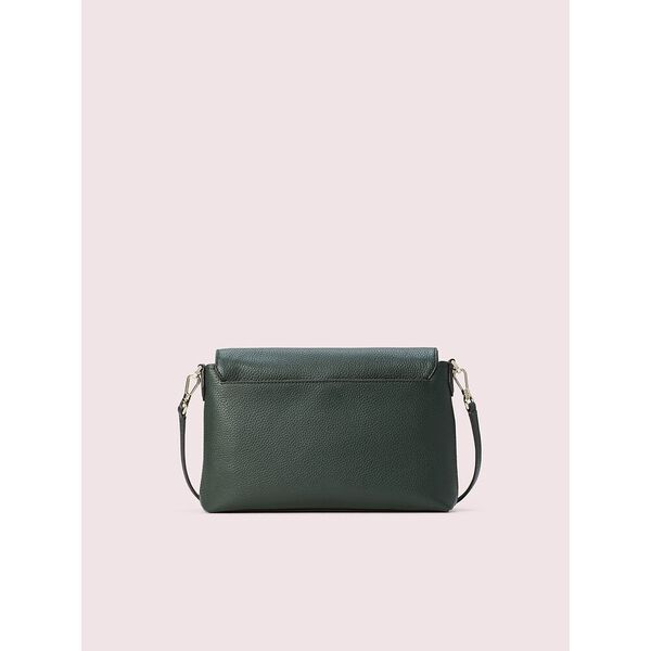polly large convertible flap crossbody, DEEP EVERGREEN, hi-res