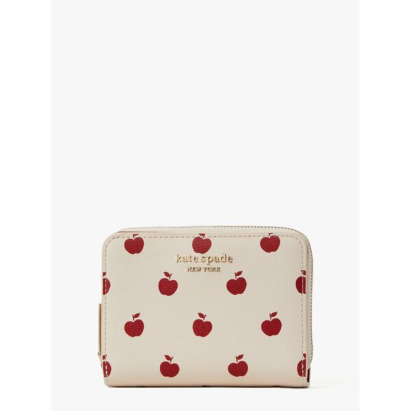 spencer apple toss small compact wallet