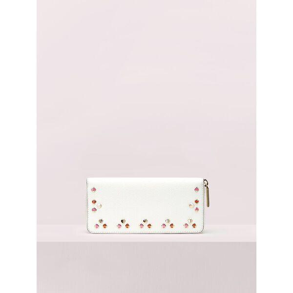 margaux floral slim continental wallet