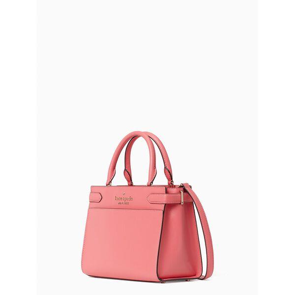 staci small satchel, garden pink, hi-res