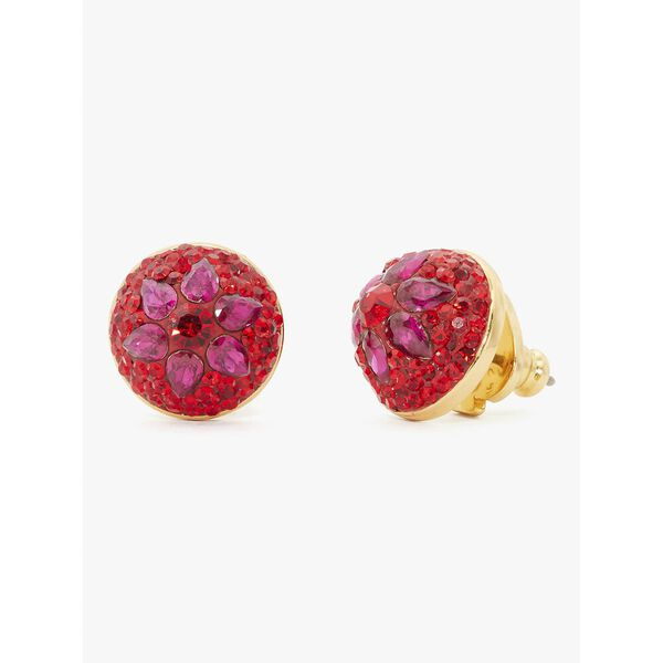 brilliant statements motif dome studs, RED MULTI, hi-res
