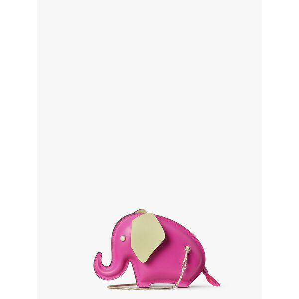 tiny elephant crossbody, SHOCKING MAGENTA, hi-res