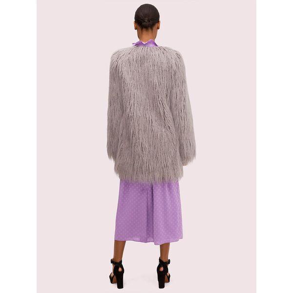 faux fur coat, shadow frost, hi-res