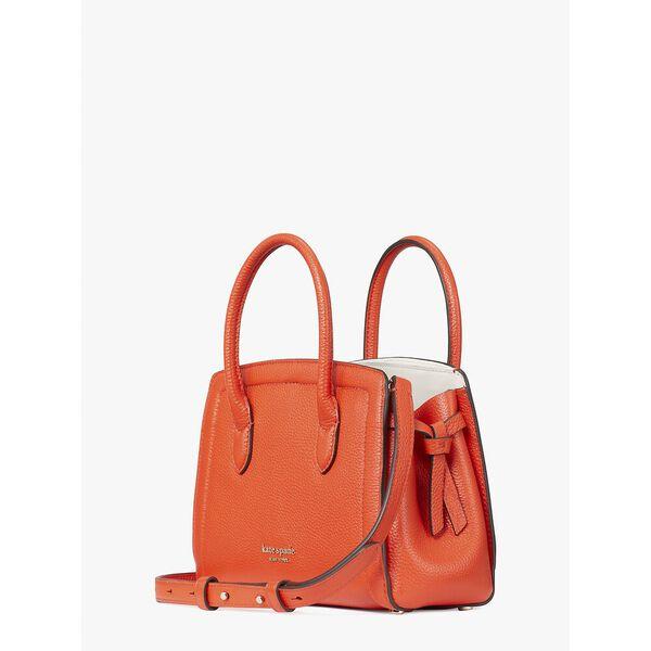 knott mini satchel, tamarillo, hi-res