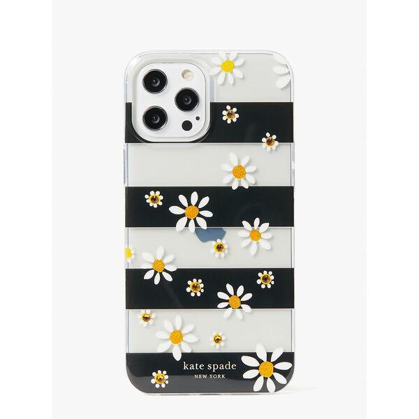 jeweled daisy dot iphone 12 pro max case, multi, hi-res