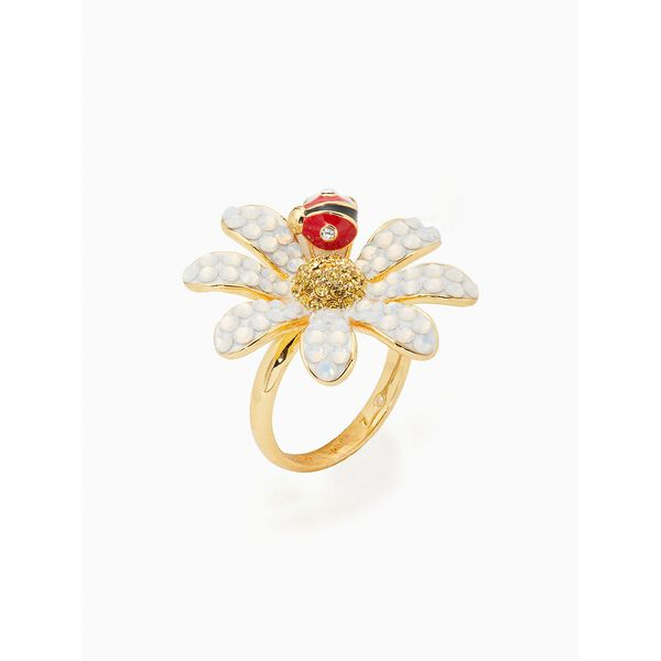 dazzling daisy ring, opal, hi-res