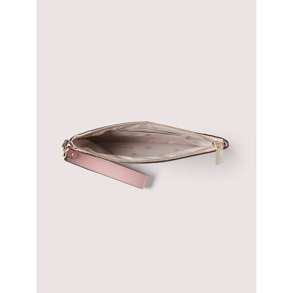 spencer falling flower small pouch wristlet, pink multi, hi-res