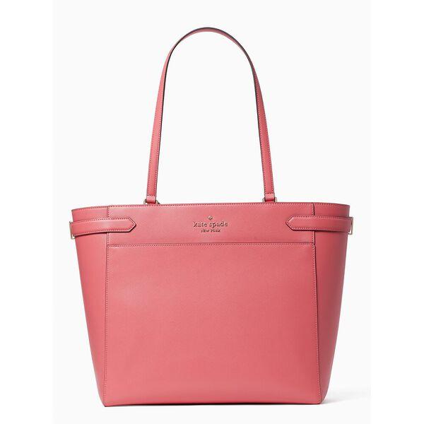 staci laptop tote, garden pink, hi-res