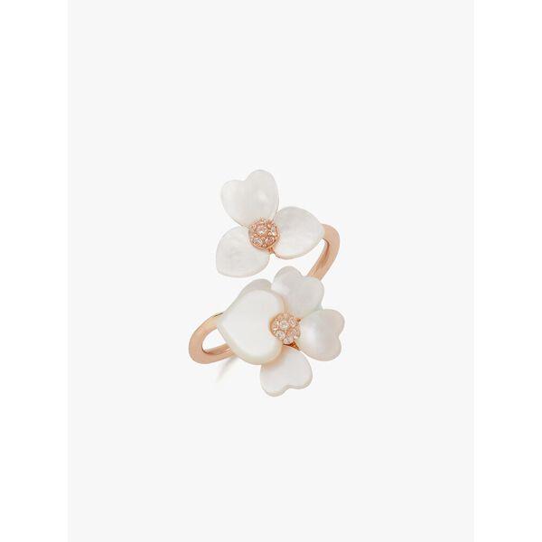 precious pansy wrap ring