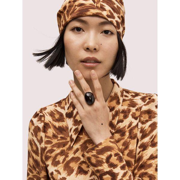 panthera satin hat, natural, hi-res