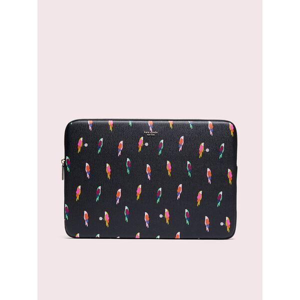 sylvia flock party universal laptop sleeve