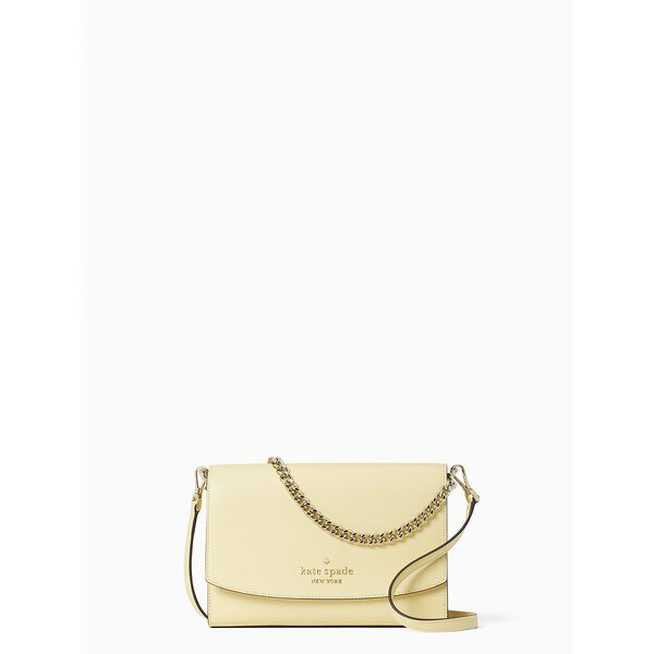 carson convertible crossbody, butter, hi-res