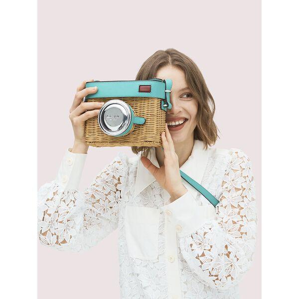 rose 3d camera bag, fiji green, hi-res