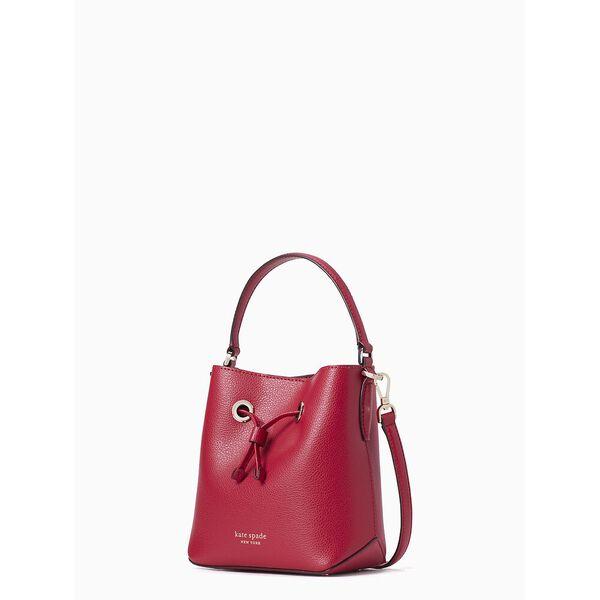 eva small bucket bag, red cake, hi-res