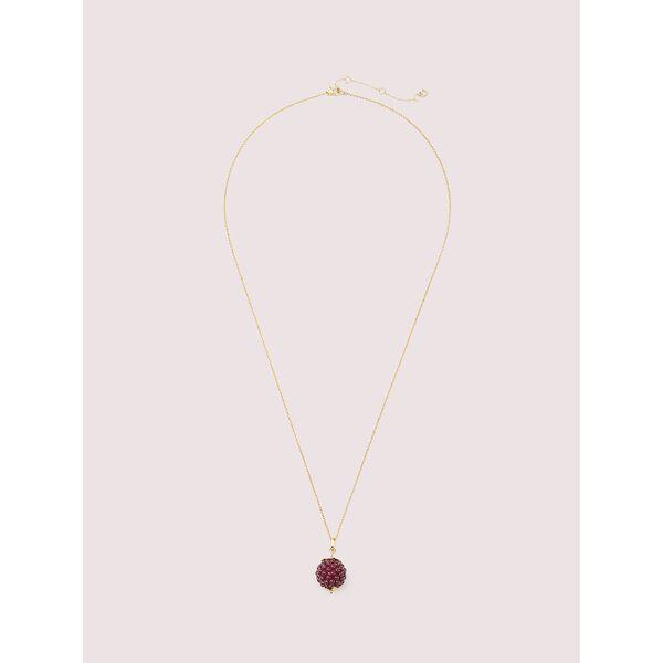 very berry pendant, BURGUNDY, hi-res