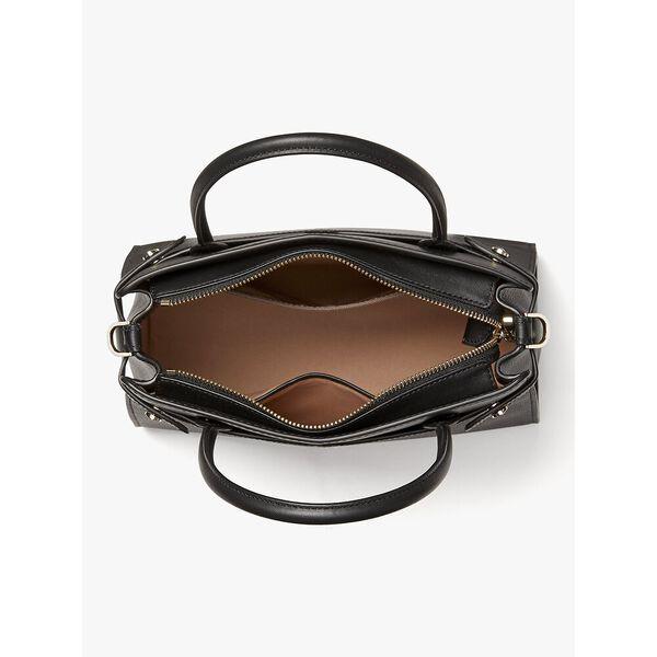 classic medium satchel, black, hi-res
