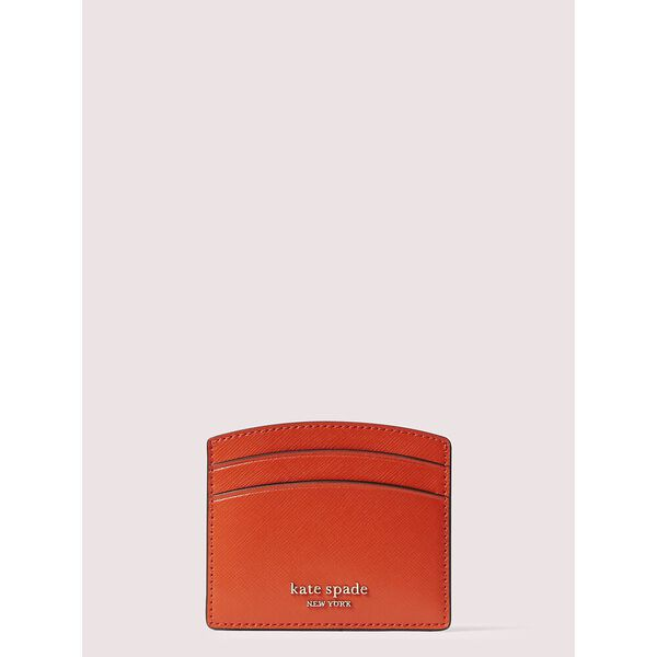 spencer cardholder, tamarillo, hi-res