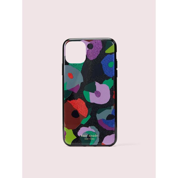 glitter floral collage iphone 11 pro max case