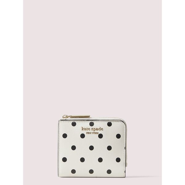 spencer cabana dot small bifold wallet