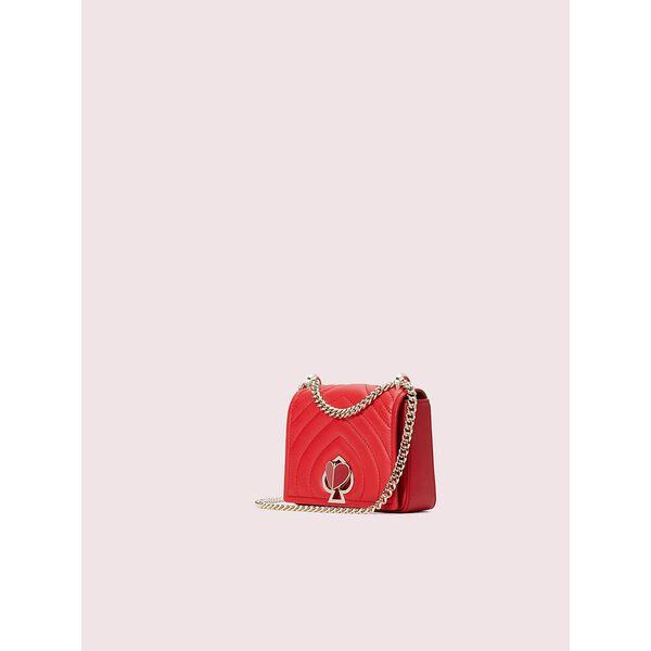 amelia twistlock small convertible chain shoulder bag, hot chili, hi-res