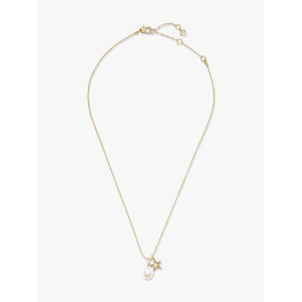 sea star starfish pearl charm pendant, cream multi, hi-res