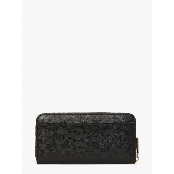 buzz zip-around continental wallet, black multi, hi-res