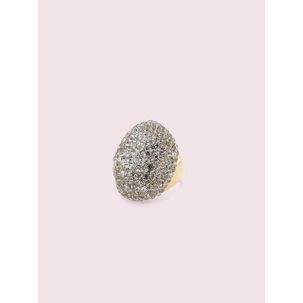 mood ring clay pavé ring, black diamond, hi-res