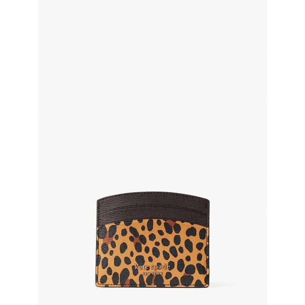 spencer leopard cardholder, multi, hi-res