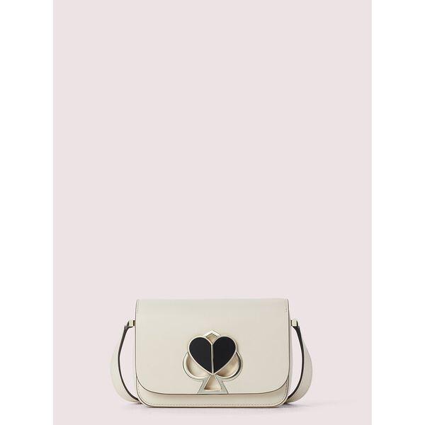 nicola twistlock small shoulder bag, bare, hi-res