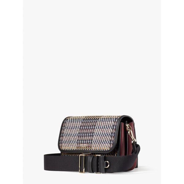 buddie plaid medium shoulder bag, multi, hi-res