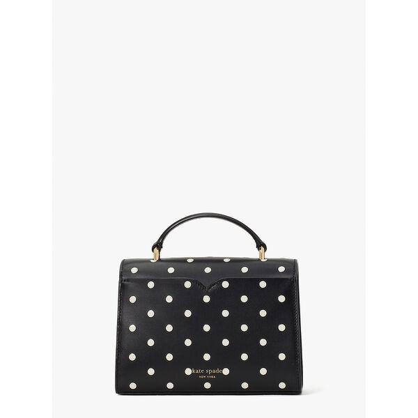 lovitt dot small top-handle bag, black multi, hi-res