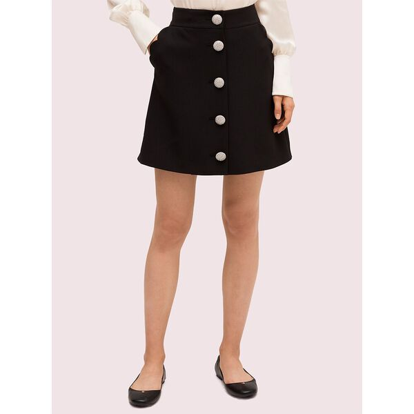scallop pocket skirt