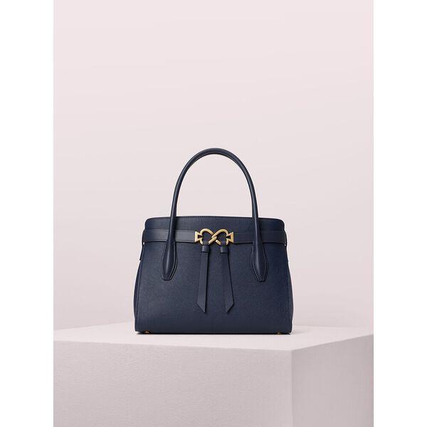 toujour medium satchel, blazer blue, hi-res