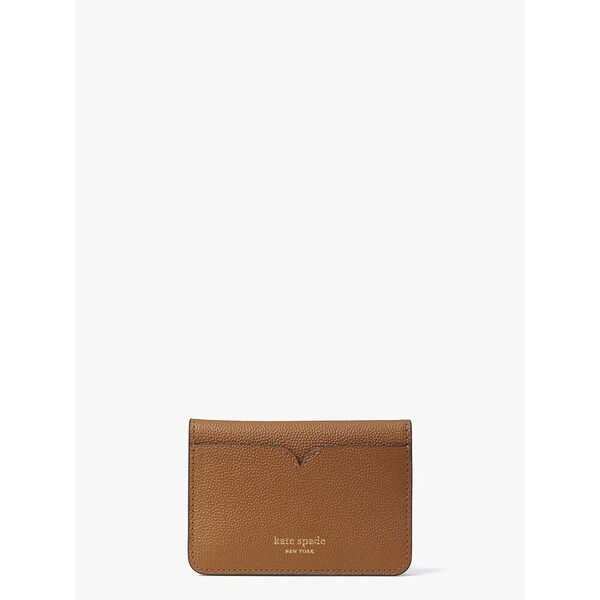 toujours slim cardholder, WARM GINGERBREAD, hi-res
