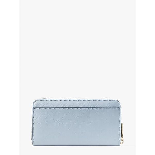 spencer zip-around continental wallet, HORIZON BLUE, hi-res
