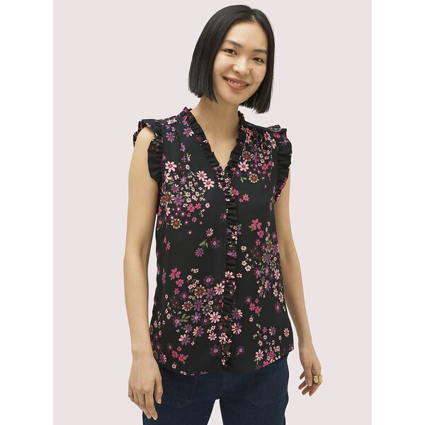 bora flora shell top