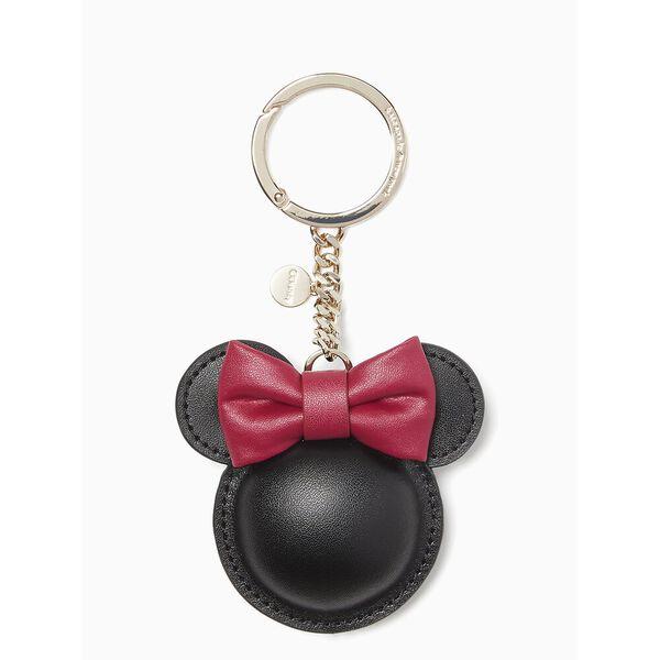 minnie leather keyfob