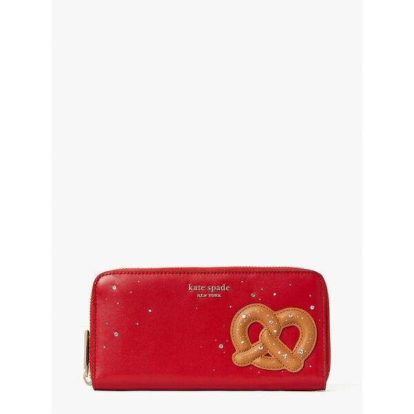 on a roll zip-around continental wallet