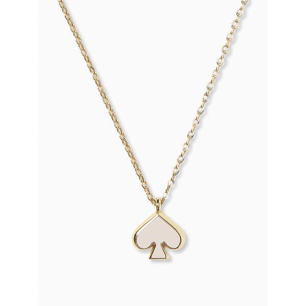 everyday spade enamel mini pendant