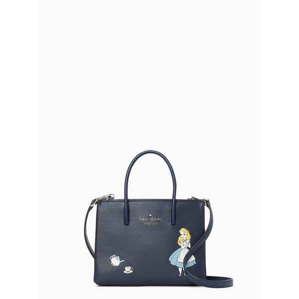 disney x kate spade new york alice in wonderland shopper crossbody bag