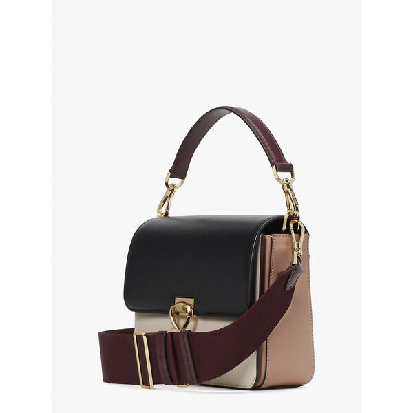 lovitt colorblock medium convertible shoulder bag, black multi, hi-res