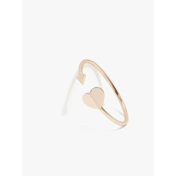 heritage metal spade flex cuff, rose gold, hi-res