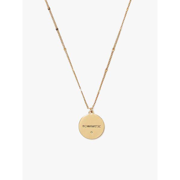 in the stars taurus pendant, gold, hi-res