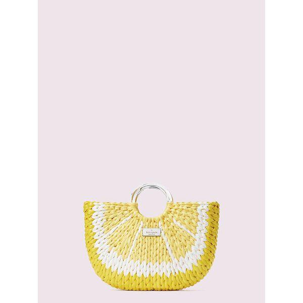 picnic perfect lemon medium tote