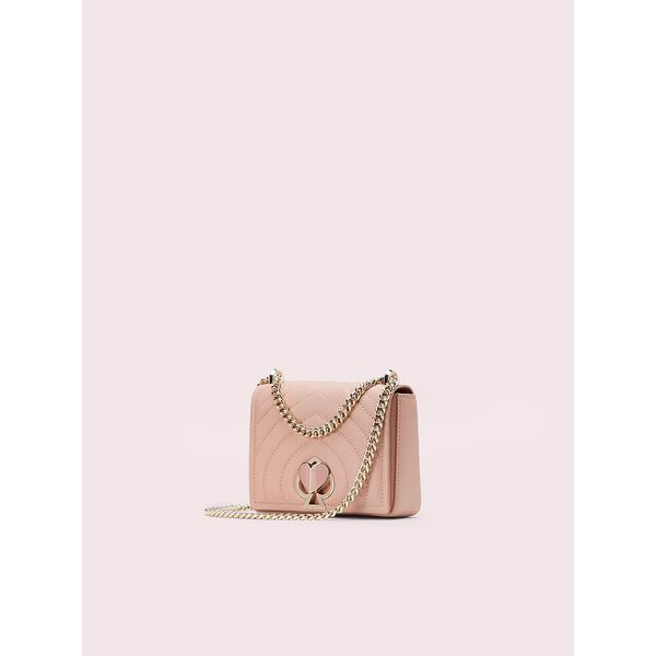 amelia twistlock small convertible chain shoulder bag, flapper pink, hi-res